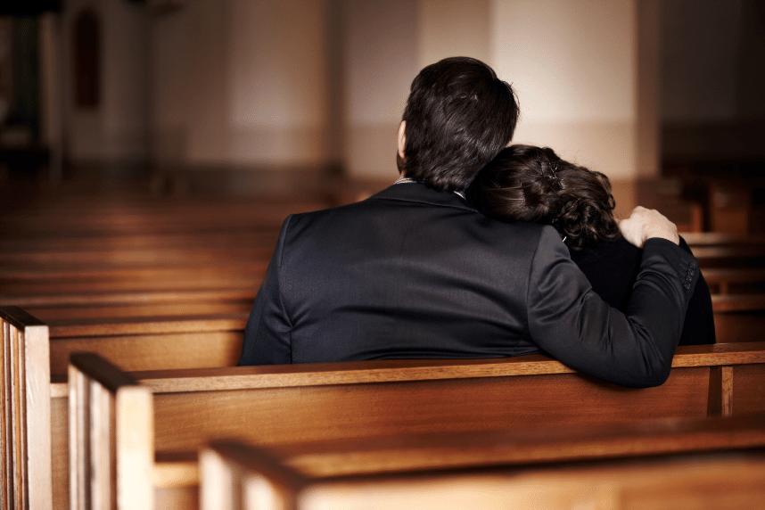 Checklista inför begravning
